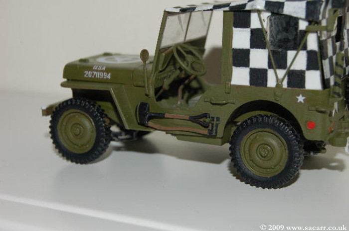 1/35 Jeep Build To Get A 1/1 Jeep To Fit In The Garage!! - Work in